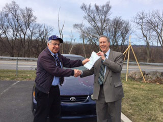 Car Donation to Jewish Family Service of Greater Harrisburg