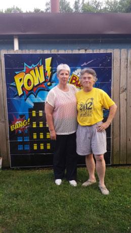 Beth Herr and Deb Stoyek