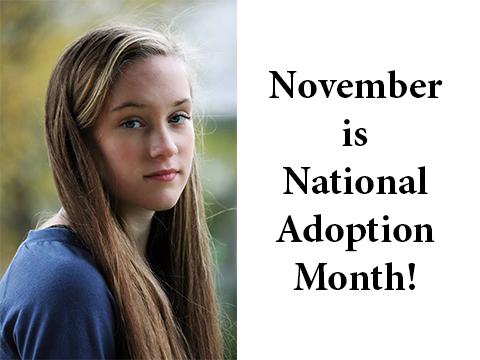 2019 – national adoption month
