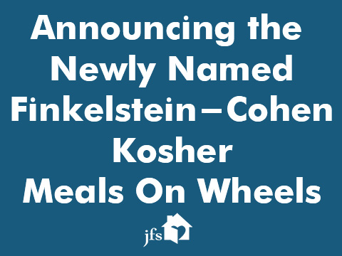 Finkelstein- Cohen Meals on Wheels – Slider
