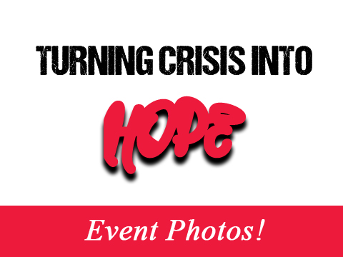 Turning Crisis Into Hope – event photos Slider