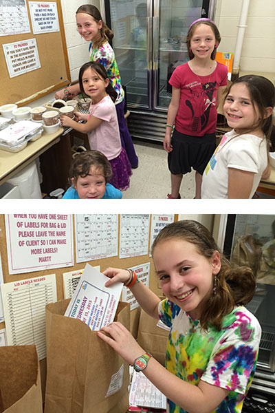 Kosher Food Pantry Volunteers