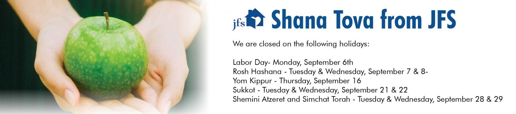JFS Shana Tova - Holidays